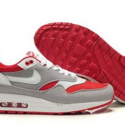 air max 1 bianche rosse